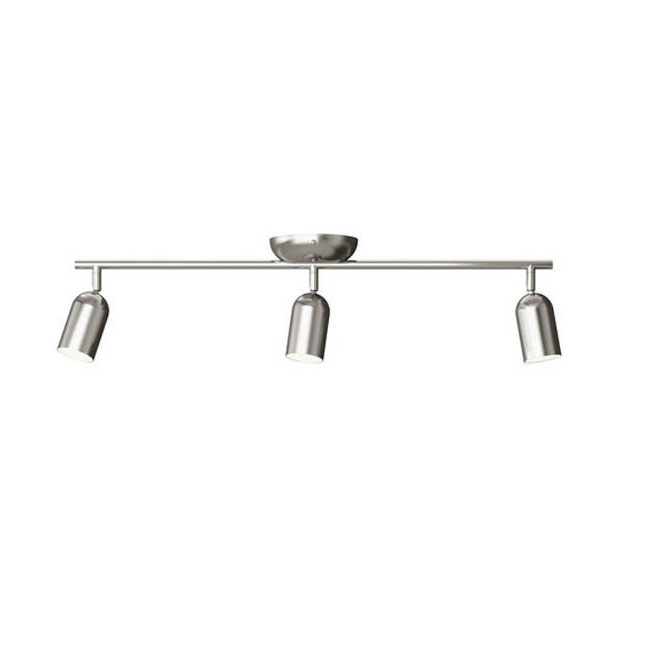 Modern Stainless Steel Shade Mono-rail Track lighting 10637