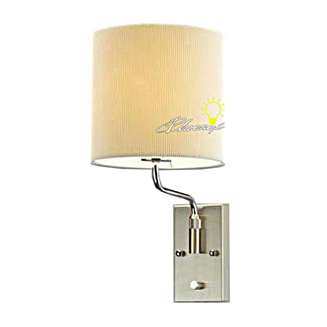 Modern Fabric Wall Lights : Modern Adjustable Lumen Fabric Wall Sconce 8701 : Browse Project Lighting and Modern Lighting ...