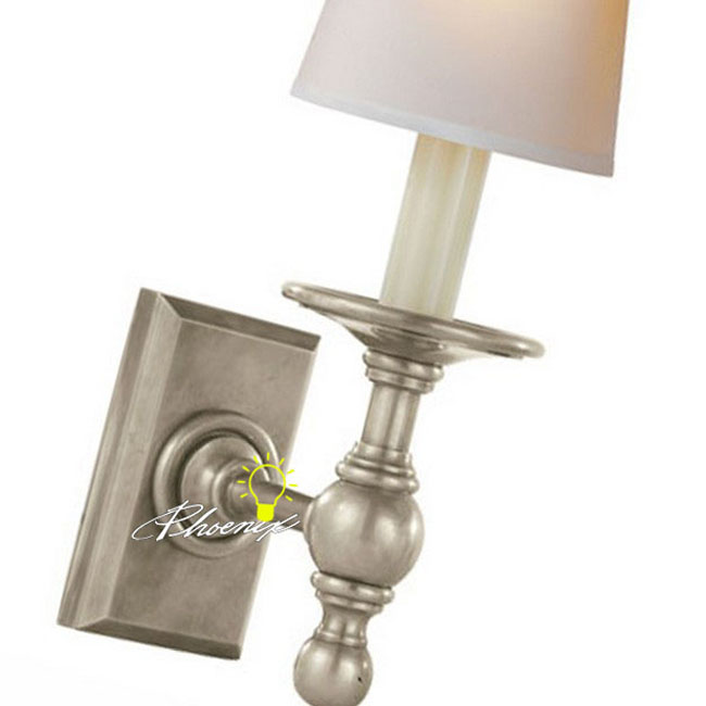 Modern Fabric Wall Lights : Modern Fabric Shade Copper Wall Sconce 8764 : Browse Project Lighting and Modern Lighting ...
