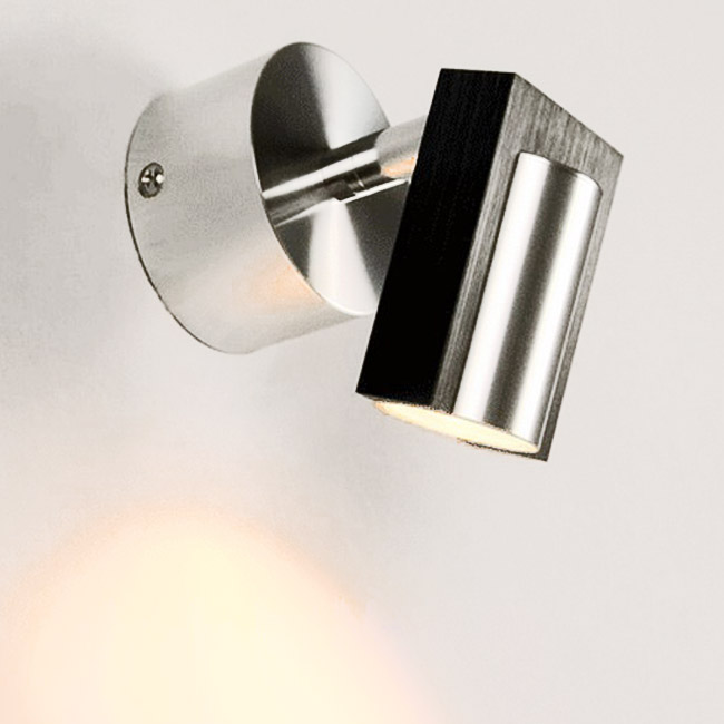 Simple Bathroom Wall Sconces : Modern Bathroom Simple Wall Sconce in Brushed Finish 9102 : Browse Project Lighting and Modern ...
