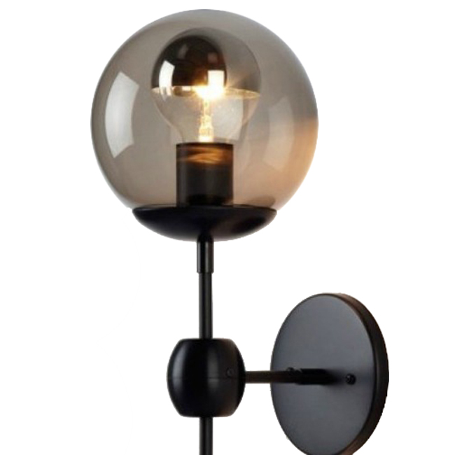 Gold Ball Wall Lights : Antique Glass Ball Wall Sconce and Lamp 9251 : Browse Project Lighting and Modern Lighting ...