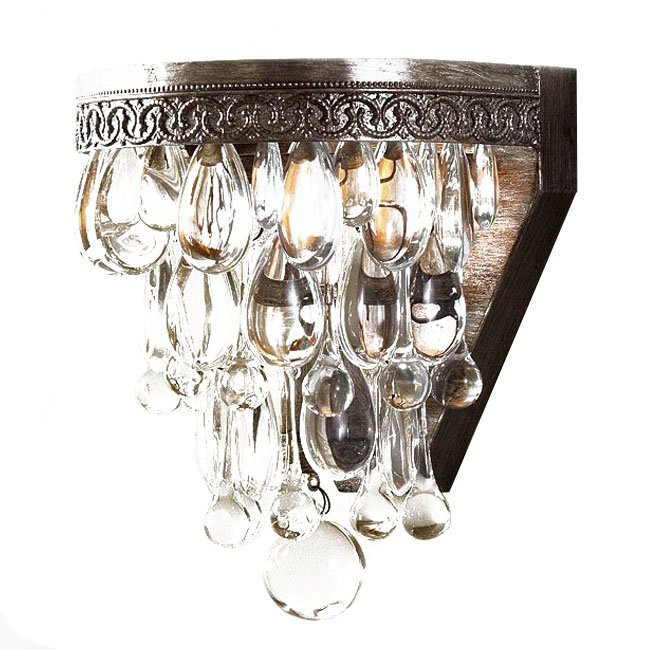Crystal Wall Sconces. Crystal Wall Sconce Candle Holders Interior Design Throughout Sizingx...
