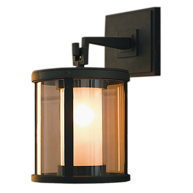 2 Layes Glass And Heavy Metal Wall Sconce 9917