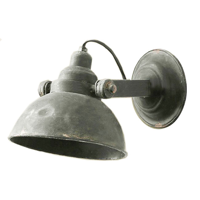 Metal Industrial Wall Lights : Loft Rusted Industrial Metal Wall Sconce 9941 : Browse Project Lighting and Modern Lighting ...