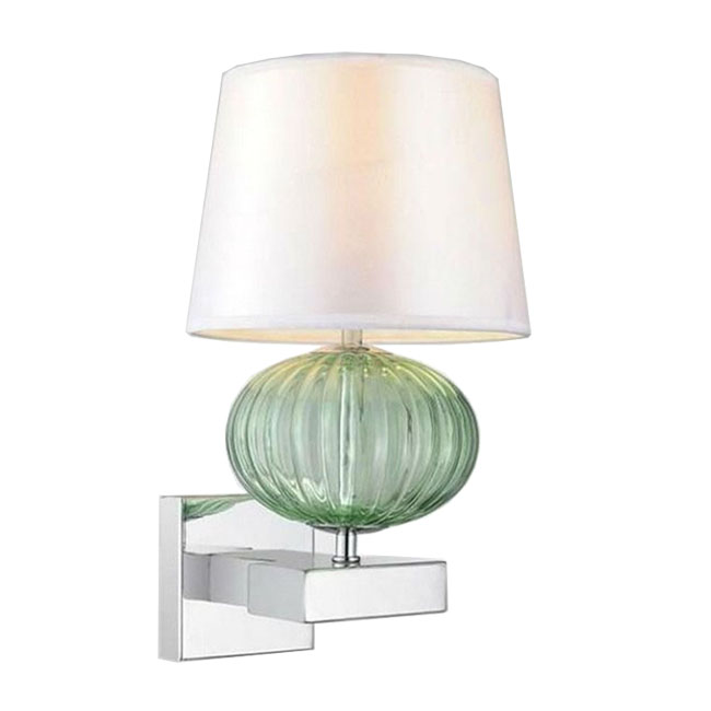 Modern Fabric Wall Lights : Modern Fabric and Crystal Wall Sconce 10056 : Browse Project Lighting and Modern Lighting ...