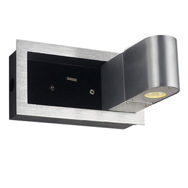 Modern 3W LED Recessed Wall Sconce in Brushed Finish 9071 : Browse Project Lighting and Modern ...