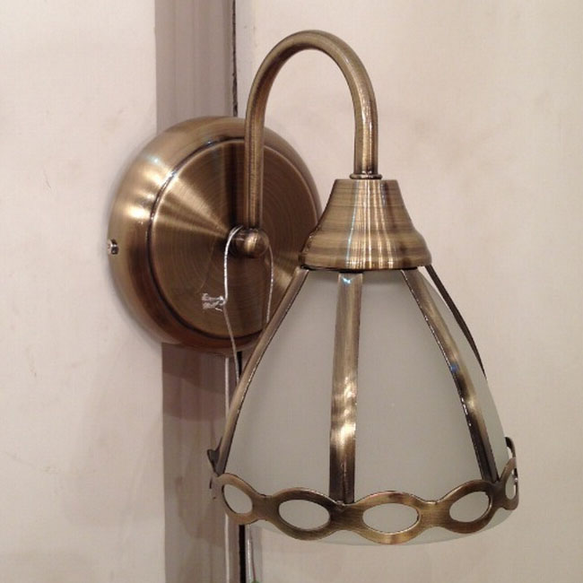 Solar Copper and Matte Glass Wall Sconce 11458 : Browse Project Lighting and Modern Lighting ...