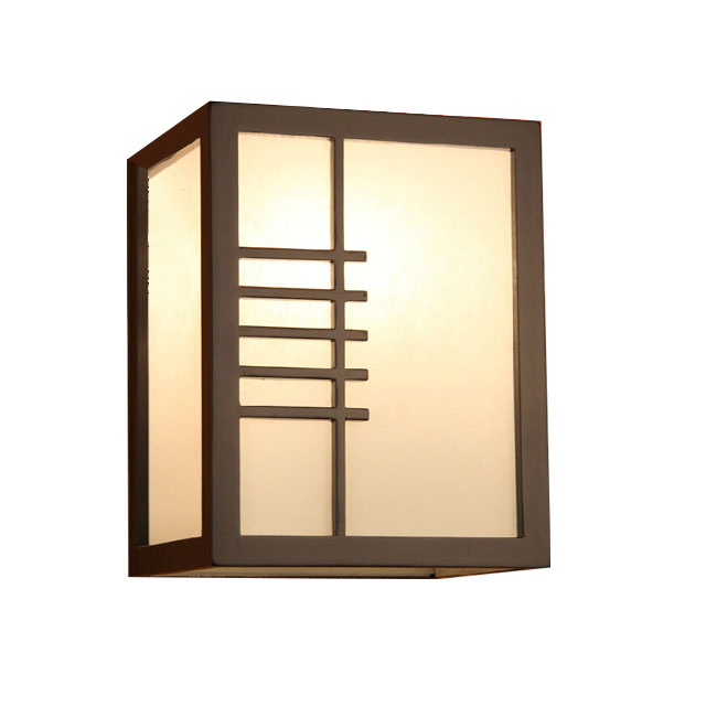 Modern Bamboo Wood Box Wall Sconce 11601 : Browse Project Lighting and Modern Lighting Fixtures ...