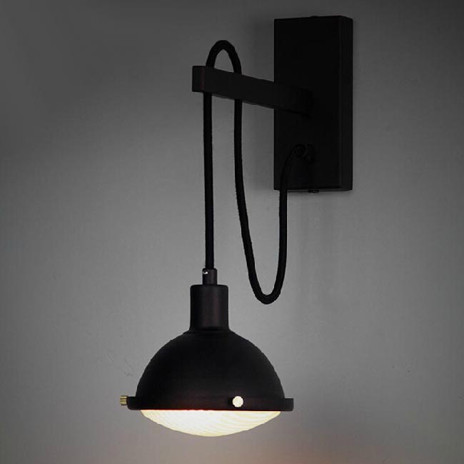 Industrial Iron Wall Sconces : Industrial Iron and Edison Bulb Wall Sconce 11954 : Browse Project Lighting and Modern Lighting ...