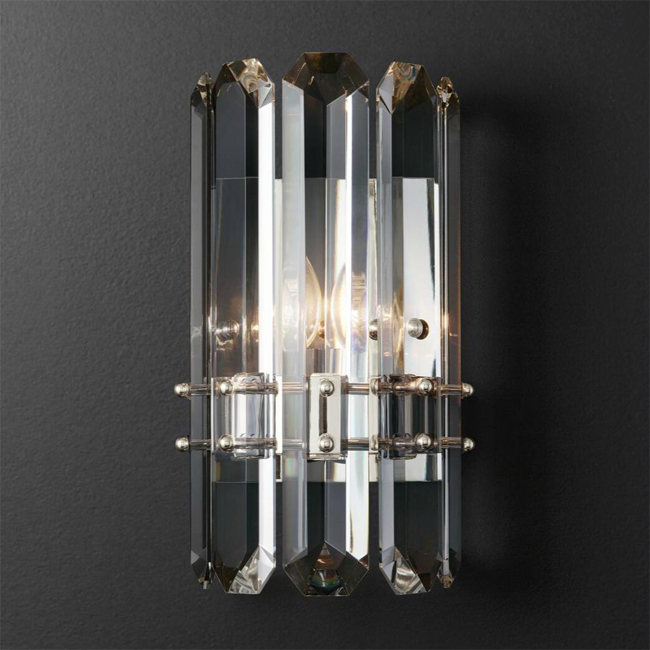 Cryastal and Iron Wall Sconce 13778 : Browse Project Lighting and Modern Lighting Fixtures For ...