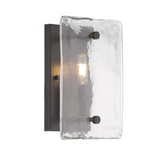 Piastra Glass 1 Light Sconce 14061